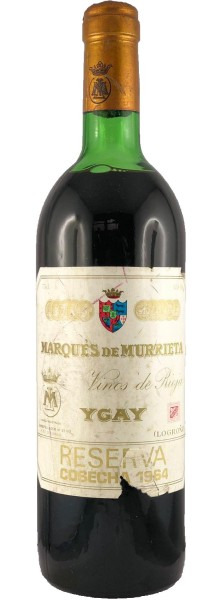 Marques de Murrieta Castillo Ygay Gran Reserva Especial 1964