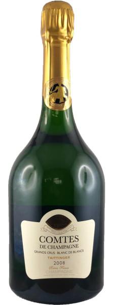 1,5l Taittinger Comtes de Champagne 2008 Blanc de Blancs Magnum