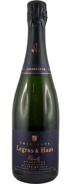 Legras & Haas Blanc de Blancs Millesimé Grand Cru 2012, Champagner