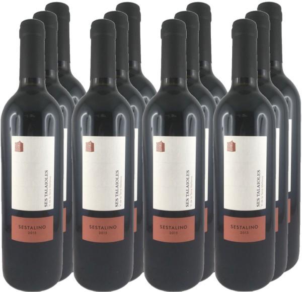 12 Flaschen Sestalino 2015 (Rotwein) (11+1 Angebot)