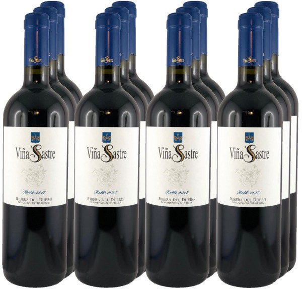 12 Flaschen Vina Sastre Barrica 2017 (Vina Sastre Roble 2017)