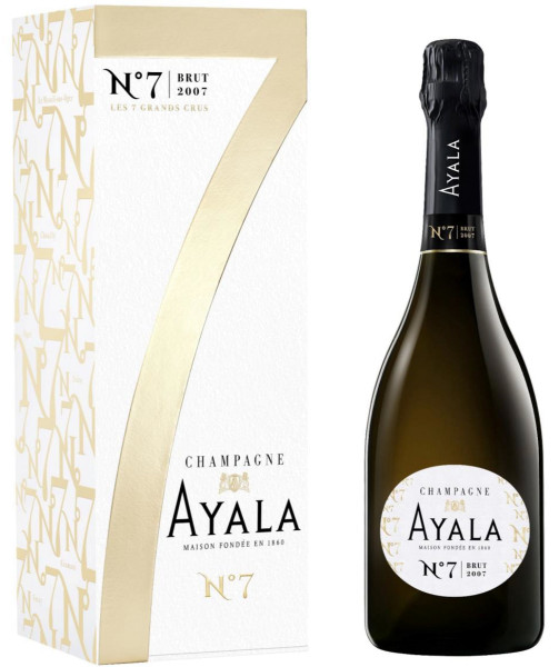 Ayala No. 7 2007 - Jahrgangs-Champagner in Geschenkverpackung