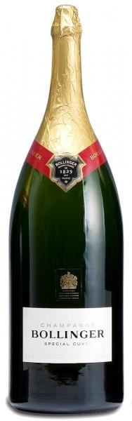 Bollinger Spécial Cuvée 9-Liter-Flasche in Holzkiste (Salmanazar)