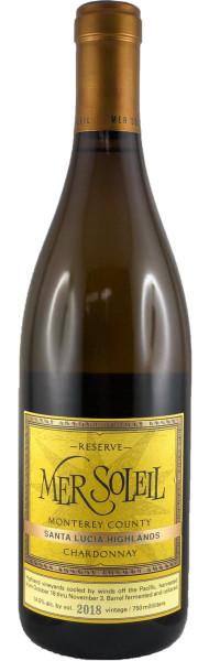 MER SOLEIL Santa Lucia Highlands Chardonnay Reserve 2018 – Weißwein