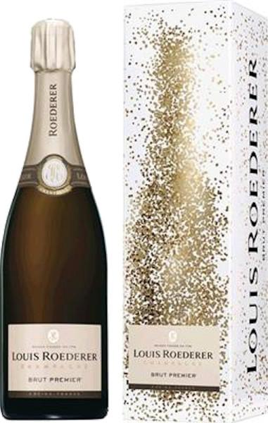 """Louis Roederer Champagne Brut Premier in Geschenkhülle """"Graphic"""""""