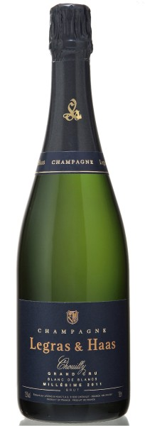 Legras & Haas Blanc de Blancs Millesimé Grand Cru 2011, Champagner