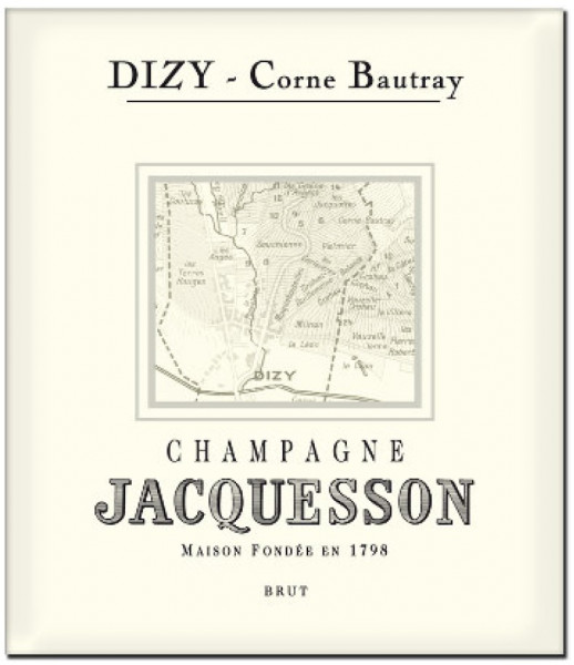 "Jacquesson Dizy ""Corne Bautray"" 2008 Champagner"