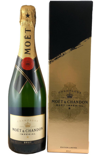 Moët & Chandon Impérial Brut Signature 2020 Limited Edition in Geschenkverpackung