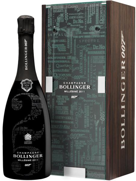 BOLLINGER 007 Limited Edition MILLÉSIMÉ 2011 in Geschenkverpackung ab Ende November lieferbar