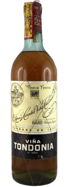 Viña Tondonia Blanco 6 año 1960 (Weißwein)
