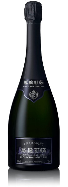 Krug Clos d'Ambonnay 2002 in Holzkiste (Jahrgangs-Champagner)