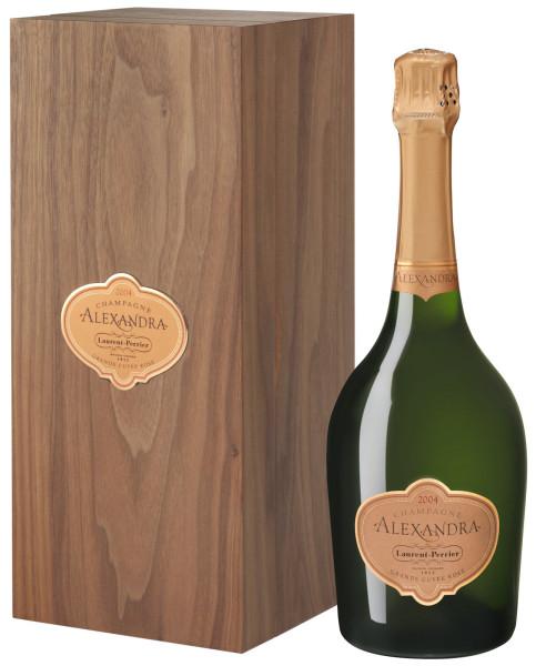 Laurent-Perrier Alexandra Rosé 2004 Champagner in Holzkiste