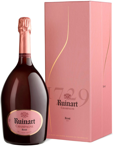 Ruinart Rosé Brut MAGNUM - Champagner- in Geschenkpackung