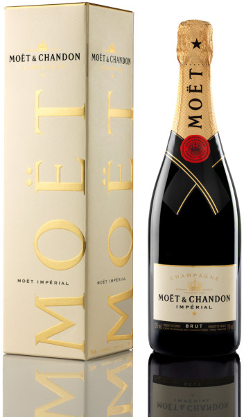 Moet & Chandon Brut Imperial Champagner in Geschenkverpackung