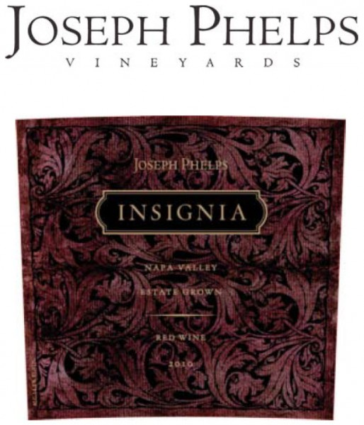 Joseph Phelps Insignia 2012, Napa Valley, Kalifornien
