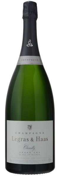 Legras & Haas Blanc de Blancs Grand Cru Extra Brut Magnum, Champagner 1,5l