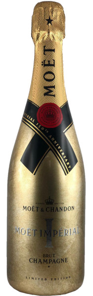 Moet & Chandon Impérial Brut Festive EOY Limited Edition 150th Anniversary Champagner