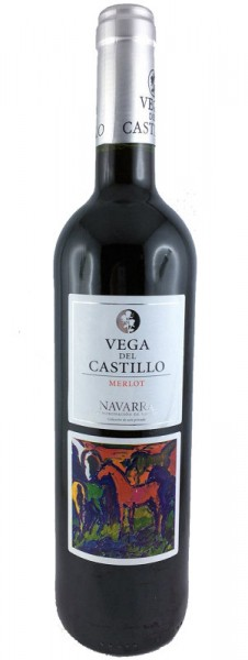 Vega del Castillo Merlot Roble 2015 Rotwein