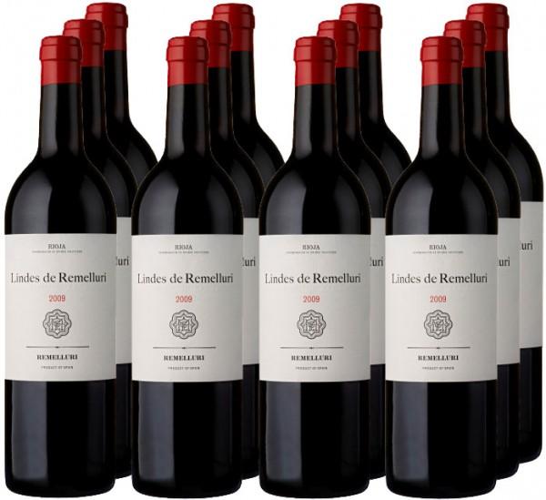 12 Fl. Lindes de Remelluri Vinedos de San Vicente 2010 (11+1)