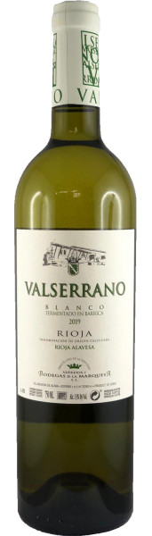 Valserrano Blanco Barrica 2019 (Weißwein)