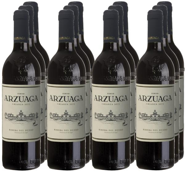 12 Flaschen Arzuaga Crianza 2015 (11+1 Angebot)