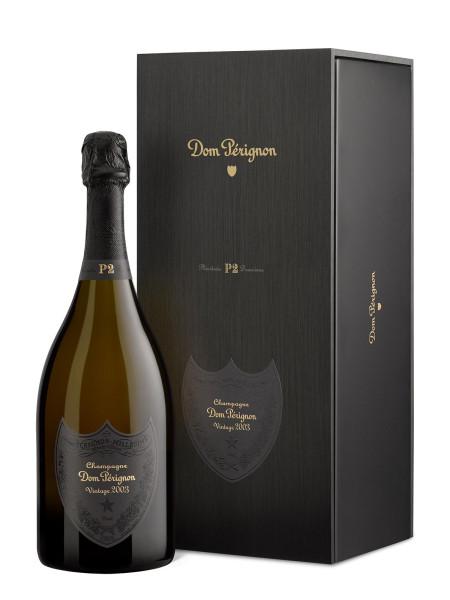 Dom Perignon P2 2003 Champagner - Plenitude 2 im Geschenkkarton