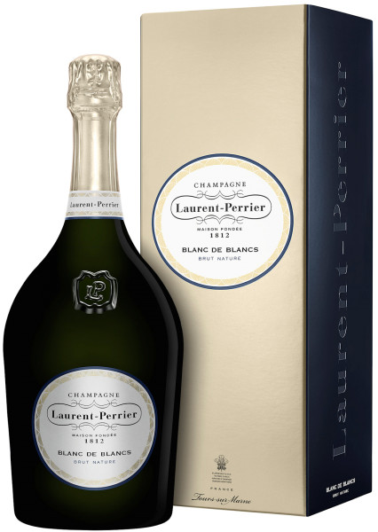 1,5l Laurent-Perrier Blanc de Blancs Brut Nature Magnum Champagner mit Geschenkpackung