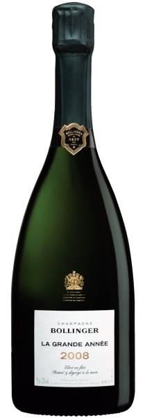Bollinger La Grande Année 2008 Doppelmagnum (3,0l) in Holzkiste (Champagner)