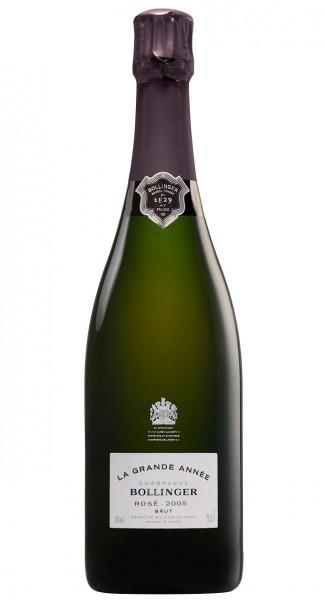 Bollinger La Grande Année 2005 Rosé Champagner