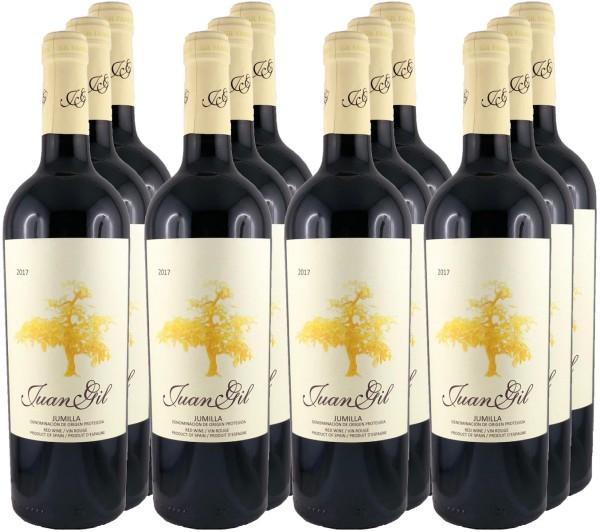 12 Flaschen Juan Gil Monastrell 4 meses en barrica 2019 (12er Angebotspreis)