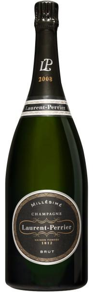 1,5l Laurent-Perrier Brut Millésimé 2008 Magnum Champagner mit Geschenkpackung