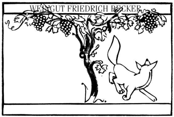 Friedrich Becker - Ink Red 2015