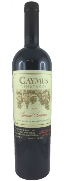Caymus Cabernet Sauvignon Special Selection 2014 Rotwein