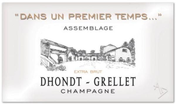 """Dhondt-Grellet """"Dans un premier temps…"""" Extra-Brut Champagner"""