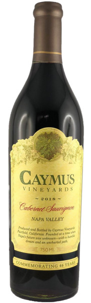 Caymus Cabernet Sauvignon 2018 (Rotwein)