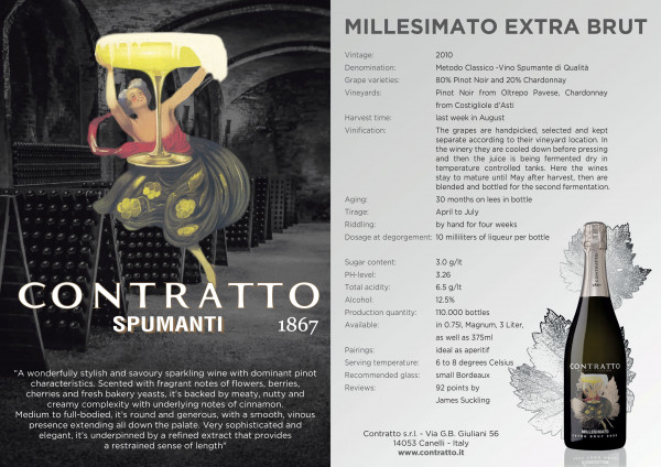 Contratto Millesimato Extra Brut 2013