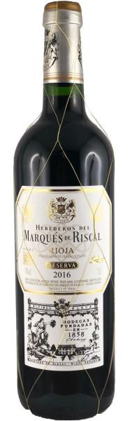 Marqués de Riscal Reserva 2016 (Rotwein, Rioja)