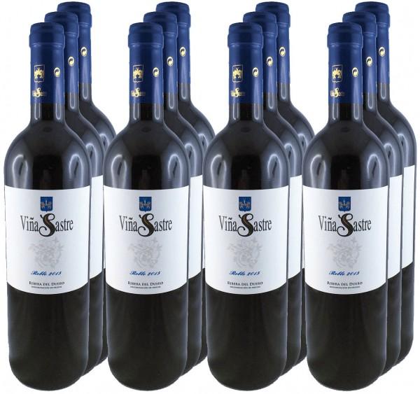 12 Flaschen Vina Sastre Barrica 2015 (Vina Sastre Roble 2015)