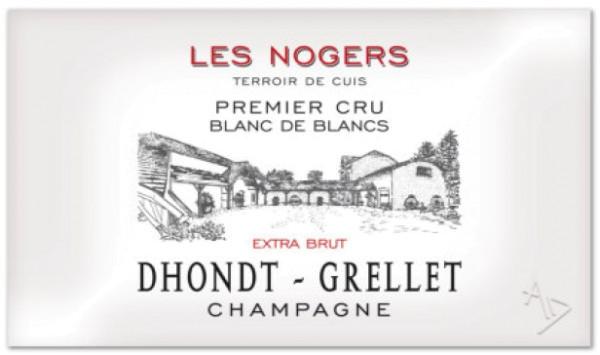"""Dhondt-Grellet 2012 Champagner """"Les Nogers"""" 1er Cru Blanc de Blancs Extra-Brut"""