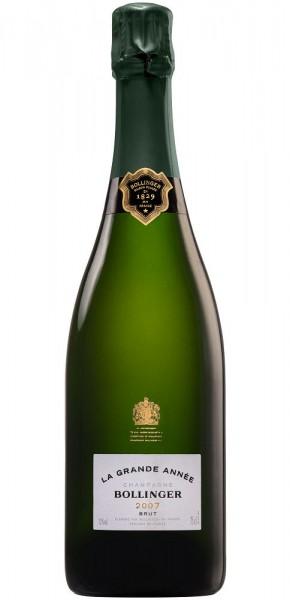 Bollinger La Grande Année 2007 Champagner