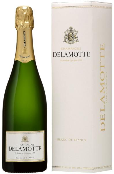 Champagne Delamotte Blanc de Blancs mit Geschenkpackung (Champagner)
