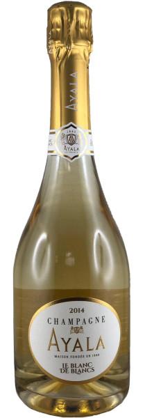 Ayala Blanc de Blancs 2014 Champagner in Geschenkpackung