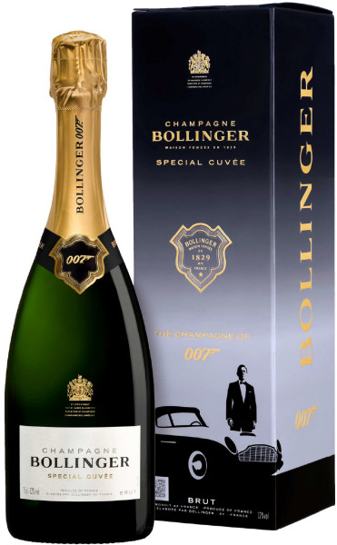 BOLLINGER 007 Special Cuvée Limited Edition in Geschenkbox