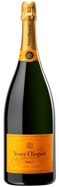 Veuve Clicquot Brut Champagner Jeroboam 3L in Holzkiste