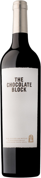 3,0l Boekenhoutskloof The Chocolate Block 2018 Doppelmagnum - ab Mitte April lieferbar