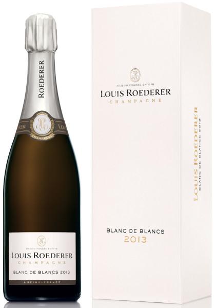 Louis Roederer Blanc de Blancs Vintage 2013 - Jahrgangschampagner Brut in Geschenkpackung Deluxe