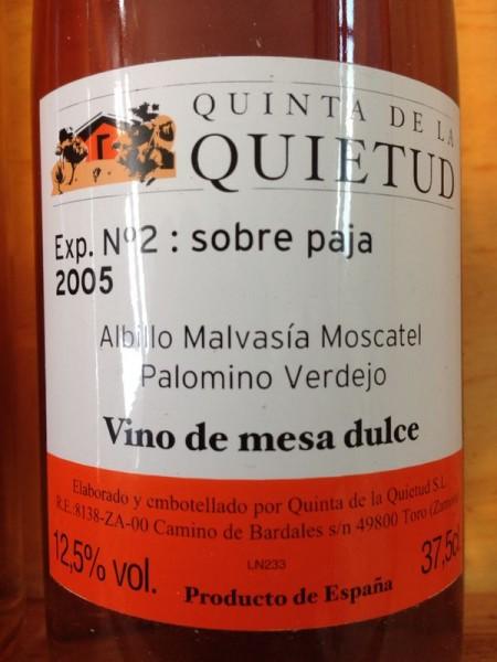 Quinta de la Quietud - Exp. No 2: sobre paja 2005
