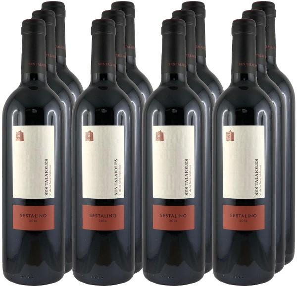 12 Flaschen Sestalino 2018 Vino tinto (Rotwein) (11+1 Angebot)