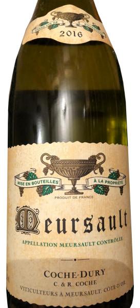 Domain Coche-Dury Meursault Blanc 2016