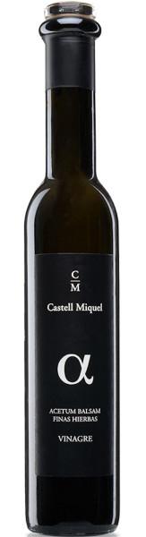 Balsamico Essig: Castell Miquel Mallorca - Vinagre Balsàmic, in 0,25l-Flasche